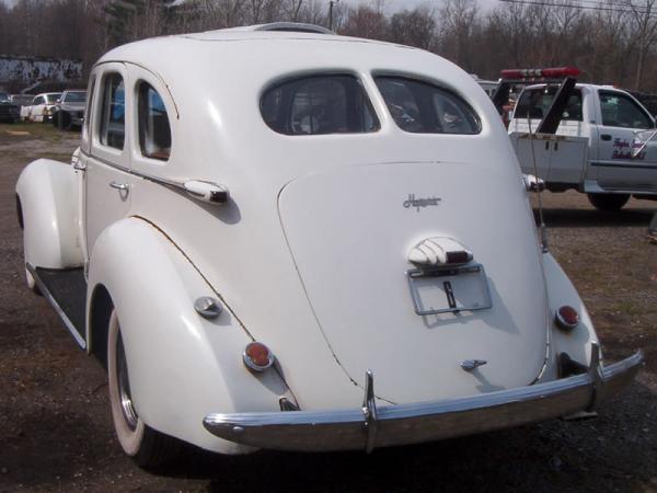 1939 Hupmobile Senior Six Rear Cleaned