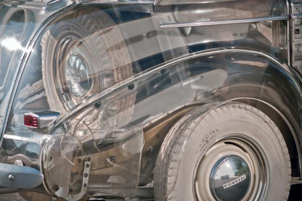 1939 Pontiac Deluxe Six Rear Fender