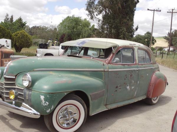 1940 Oldsmobile Ninety Eight Front Corner