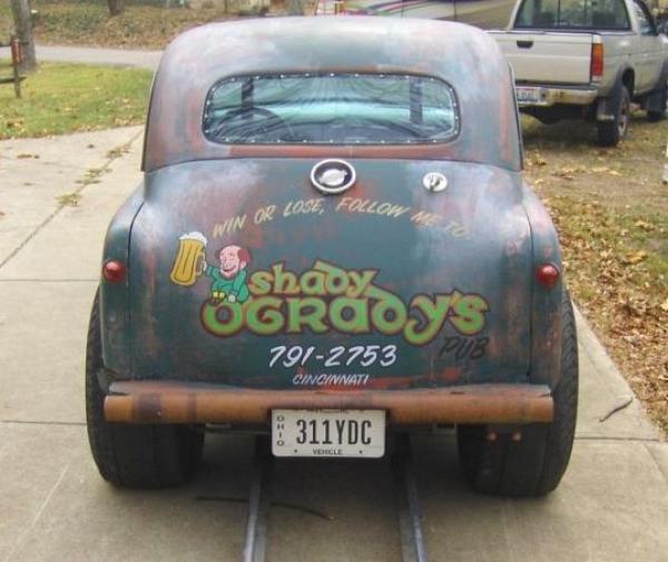 1948 Crosley Deluxe Gasser Trunk