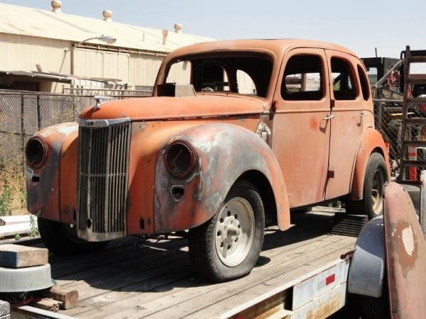 1951 Ford Prefect Gasser