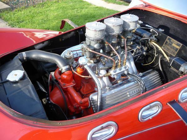 1952 Allard K2 Roadster Engine