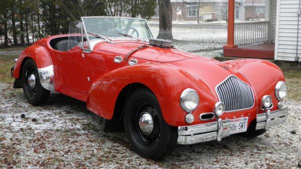 1952 Allard K2 Roadster Front