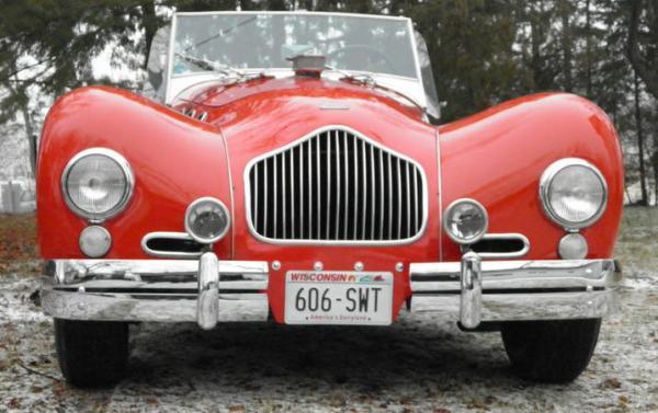 1952 Allard K2 Roadster Grill