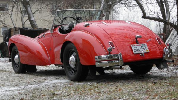 1952 Allard K2 Roadster Rear
