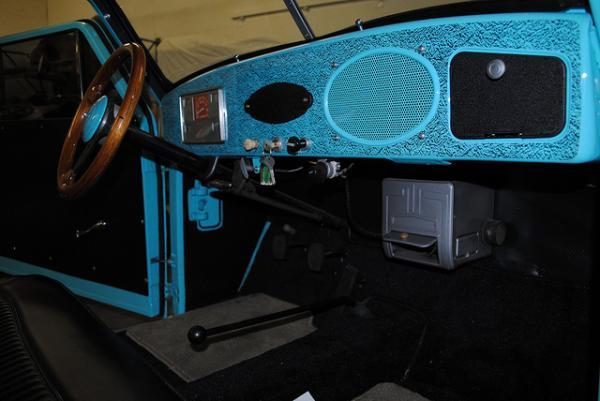 1952 Crosley Super Sedan Interior