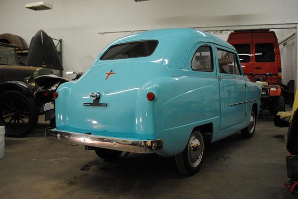 1952 Crosley Super Sedan Rear Corner