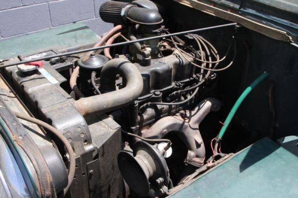 1953 Willys Jeep Cj3b Engine