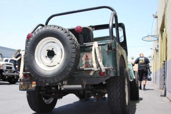 1953 Willys Jeep Cj3b Rear