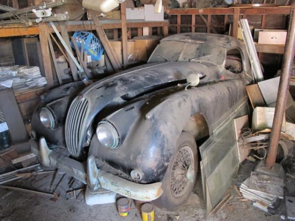 1956 Jaguar Xk140 Mc Roadster Garage Find