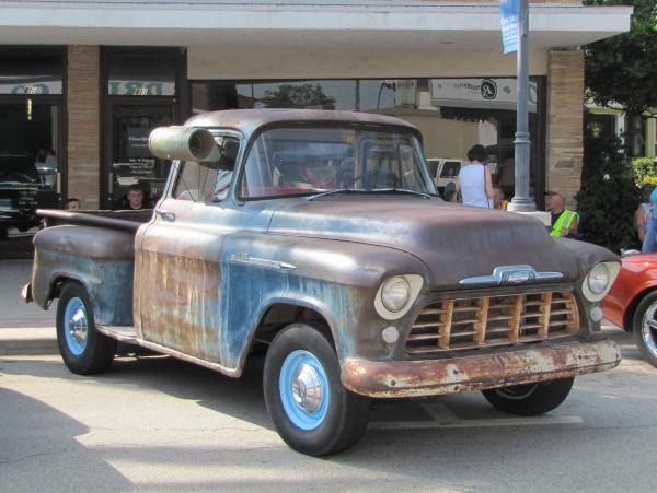 1956 Chevy 3100 Front Corner