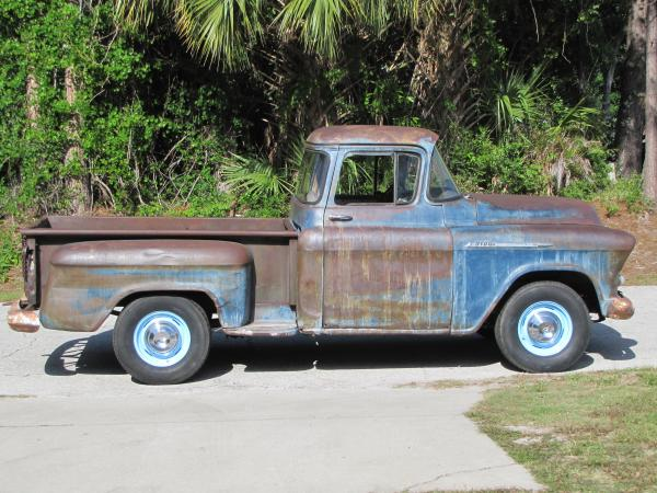 1956 Chevy 3100 Side