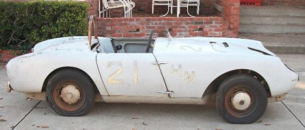 1957 Berkeley Sports Racer Project Side