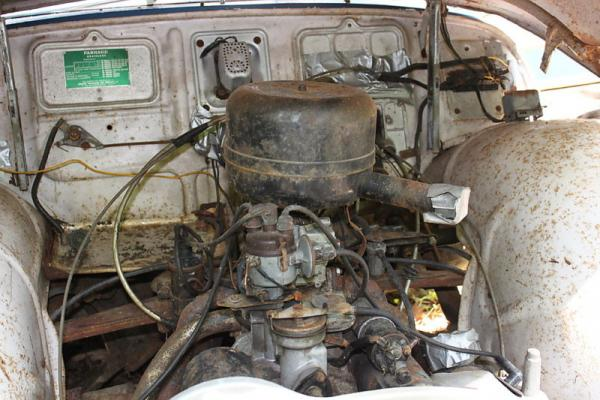 1958 Panhard Dyna Engine