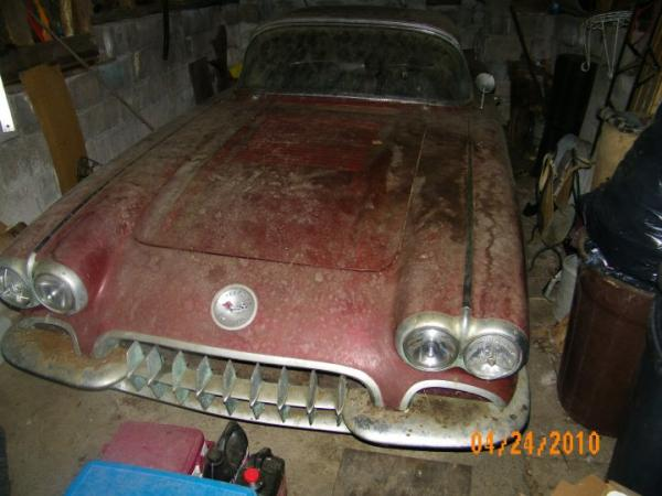 1958 Chevrolet Corvette Front Corner