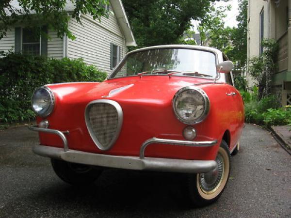 1958 Goggomobile Ts 400 Front Corner