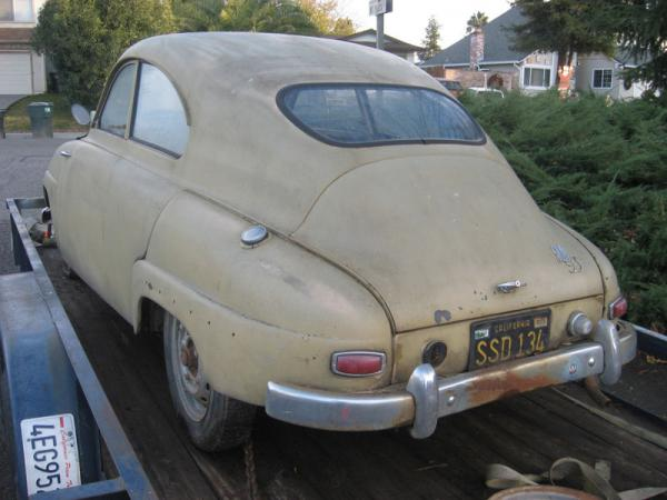 1960 Saab 93 Body