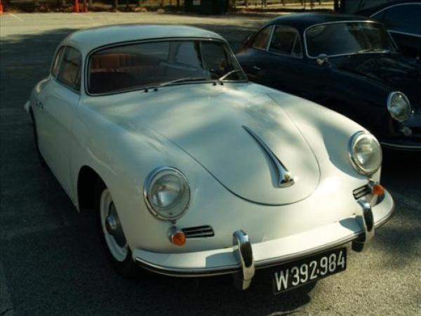 1961 Porsche 356b Notchback Front Corner