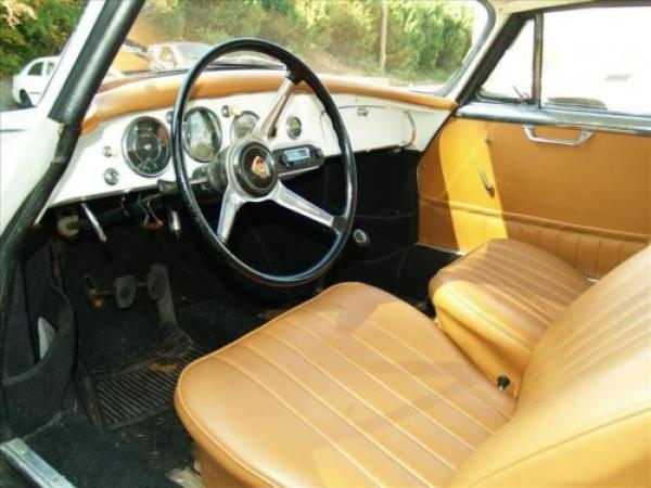 1961 Porsche 356b Notchback Interior