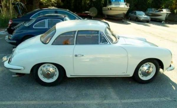 1961 Porsche 356b Notchback Side View
