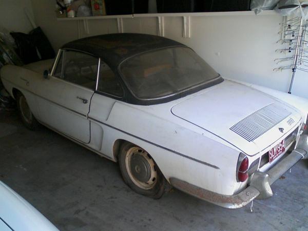 1964 Renault Caravelle Rear Corner
