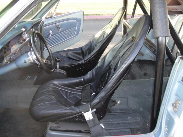 1966 Mustang Drag Racer Interior