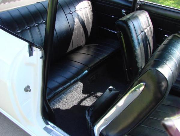 1966 Yenko Stinger Back Seat