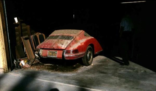 1967 Porsche 912 Front In Original Owners Garage