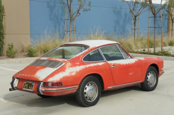 1967 Porsche 912 Rear Corner