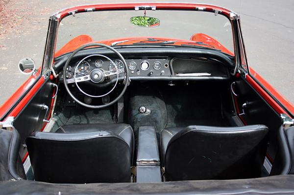 1967 Sunbeam Alpine Interior