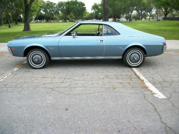 1968 Amc Javelin Sst Side