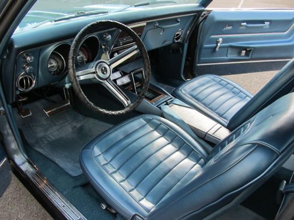 1968 Chevrolet Camaro Rs Interior