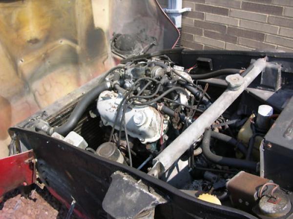 1969 Saab Sonett Ii Engine