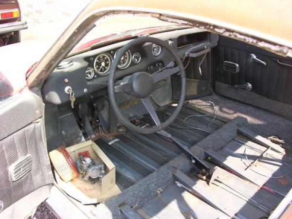 1969 Saab Sonett Ii Interior