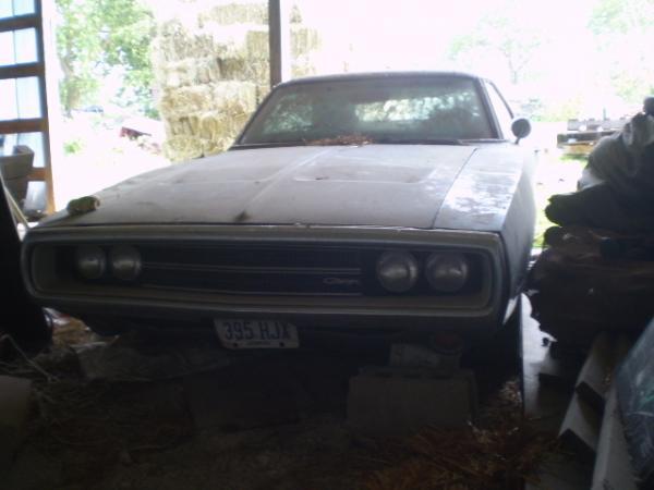 1970 Dodge Charger 500 Front Corner