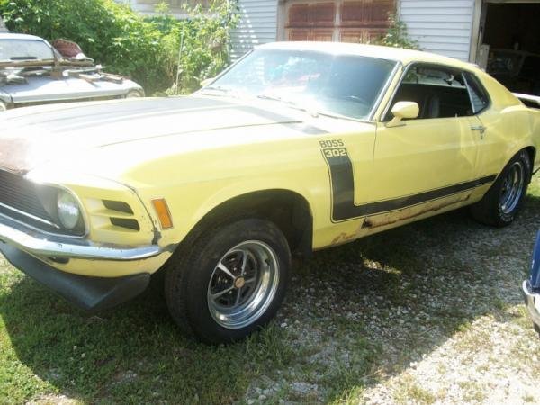 1970 Ford Mustang Boss 302 Front Corner