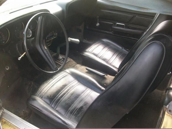 1970 Ford Mustang Boss 302 Interior