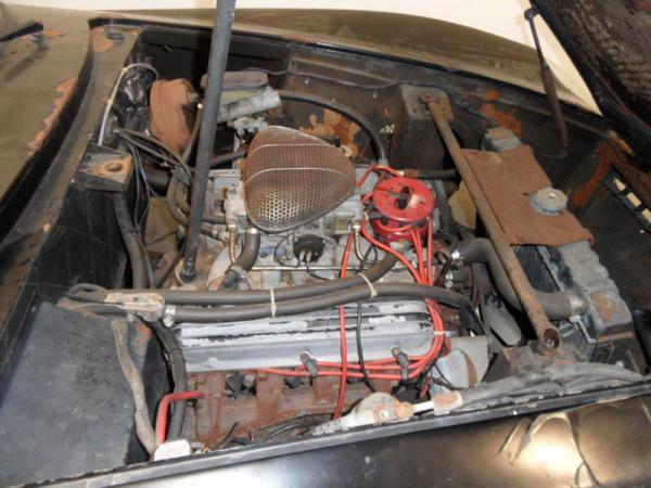 1971 Intermeccanica Italia Spyder 351 Engine
