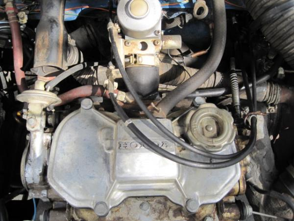 1972 Honda Z600 Engine