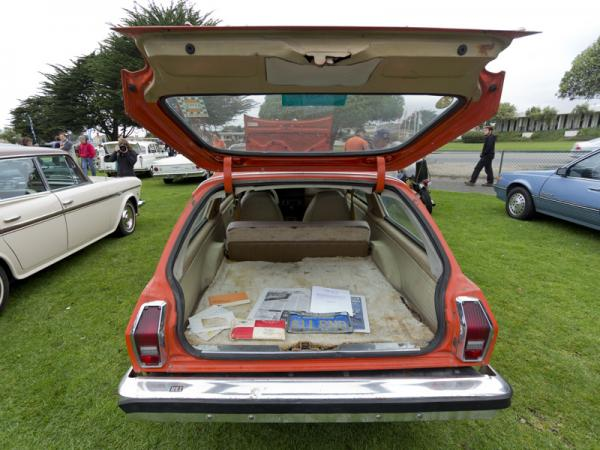 1976 Chevrolet Vega Nomad Rear