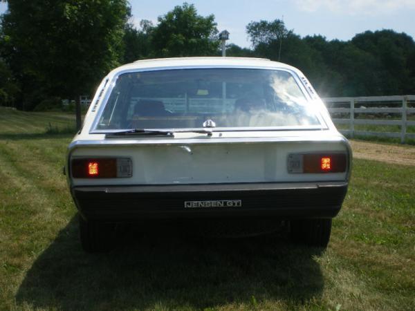 1976 Jensen Gt Rear
