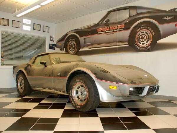 1978 Corvette Indy Pace Car Front Corner