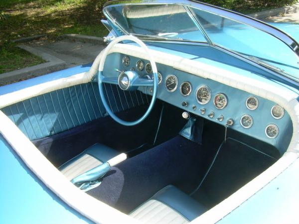 Bob Hope Special 1948 Mercury Interior