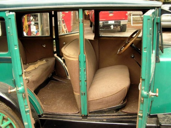 1927 Erskine Sedan Model 50w Seats