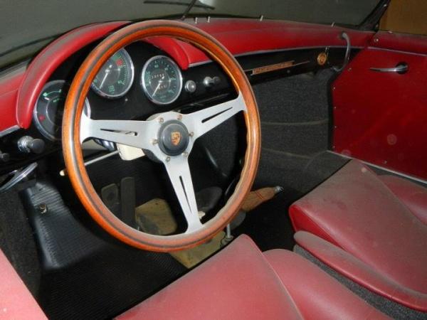 1956 Porsche Speedster Garage Find
