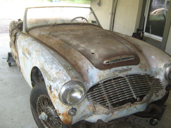 1961 Austin Healey 3000 Project
