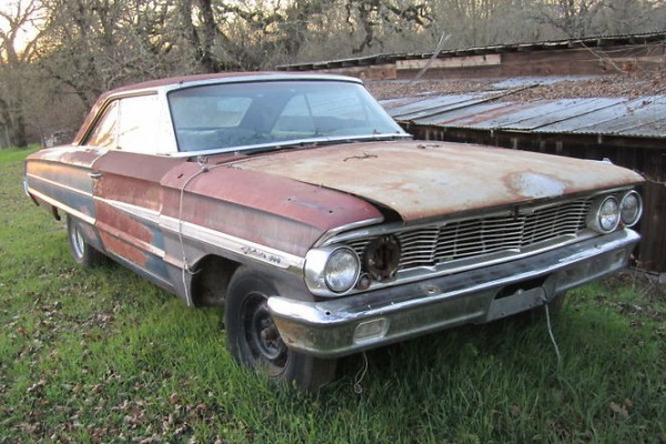 1964-Galaxie-427-front