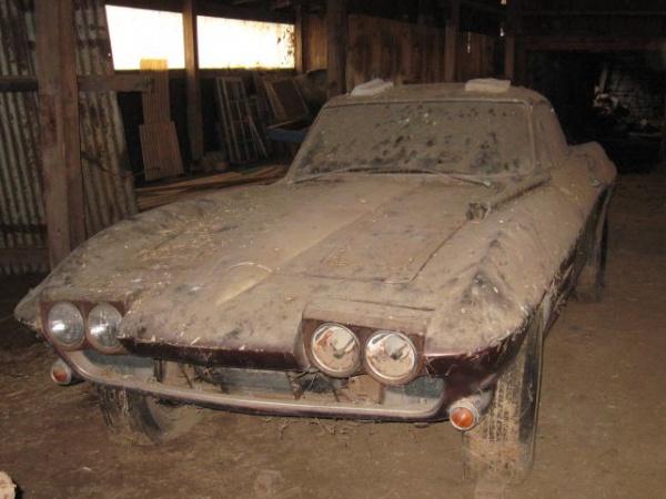 1964 Chevy Corvette Barn Find