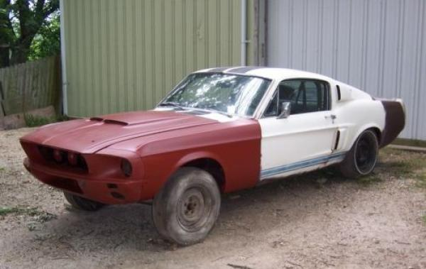 1967 Shelby GT500 Project Car for Sale