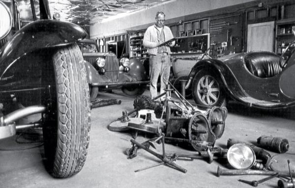 Disassembled Bugattis
